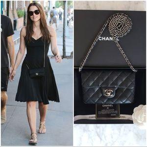 ❌😌SOLD OUT❌Chanel Black Caviar Mini Flap bag 🖤